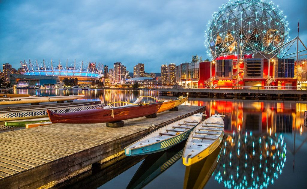 Vancouver - Science World and False Creek