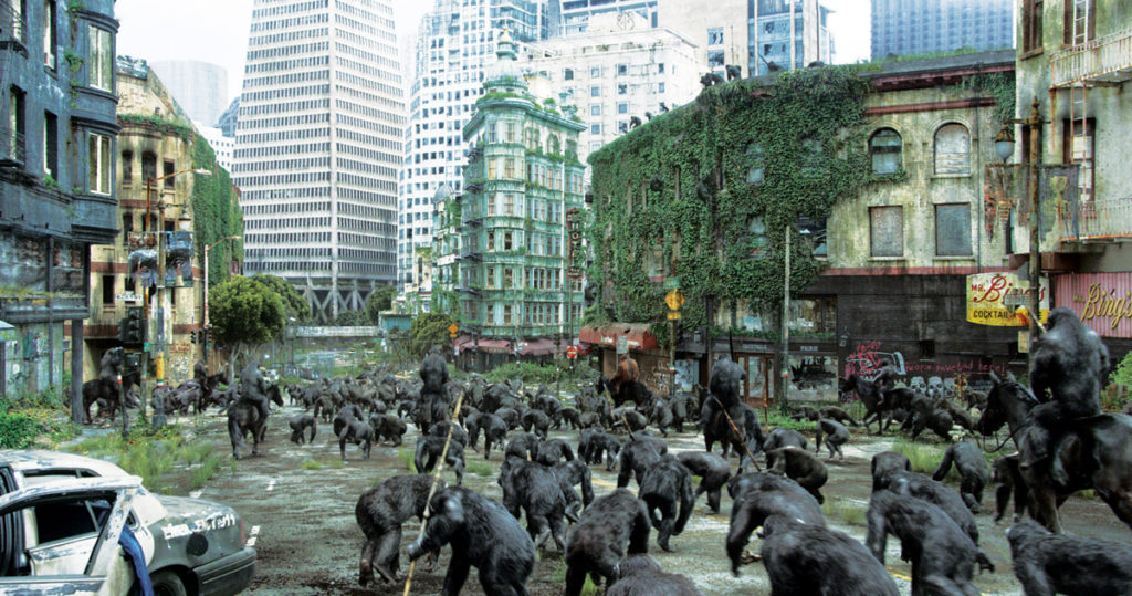 Rise of the Planet of the Apes was partly filmed in Vancouver