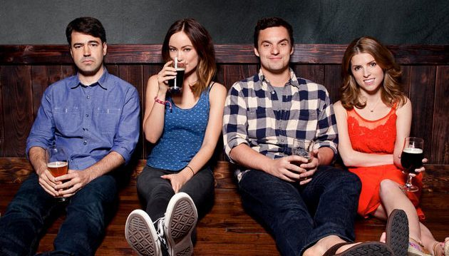 Drinking Buddies (2014), an improvised movie