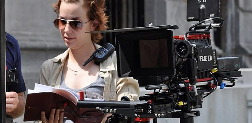 Assistant Director on a film set