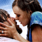 The Notebook kiss with Ryan Gosling and Rachel McAdams
