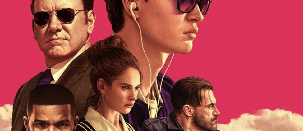 Baby Driver review ansel elgort jamie foxx kevin spacey