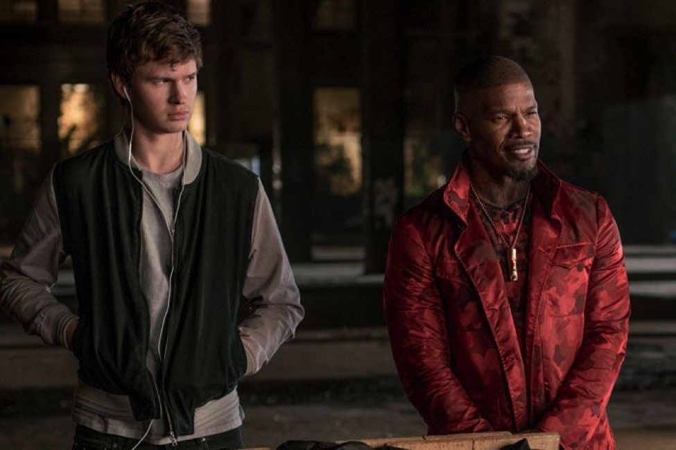 Baby Driver with Ansel Elgort and Jamie Foxx