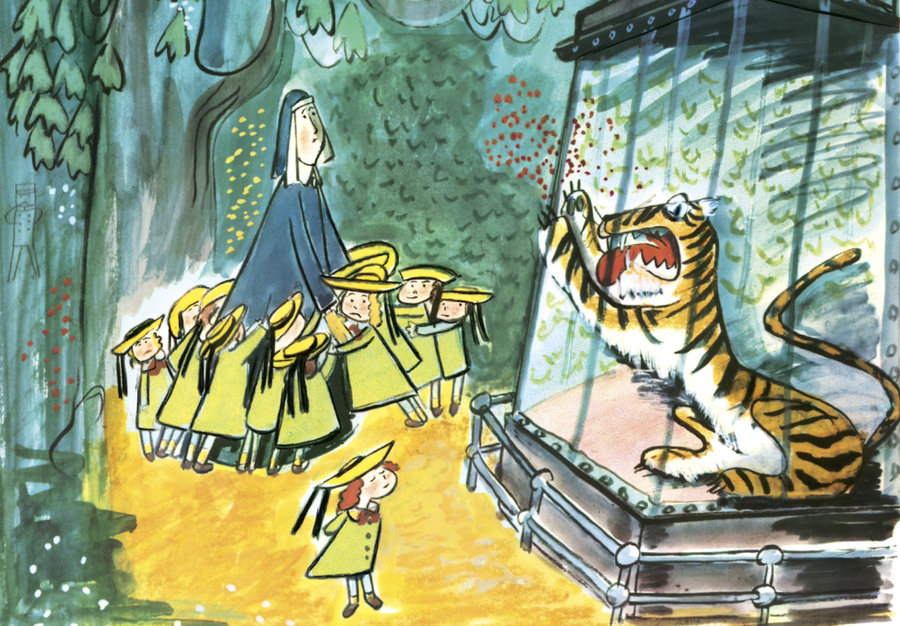 madeline children tiger