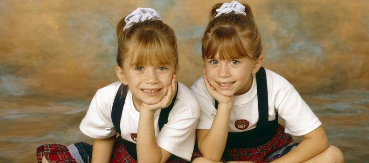 mary-kate ashley olsen twins child actors