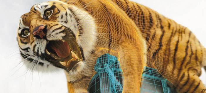 Animals in Film Life of Pi tiger