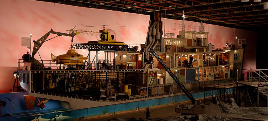 Art of Production Design The Aquatic Life of Steve Zissou Wes Anderson