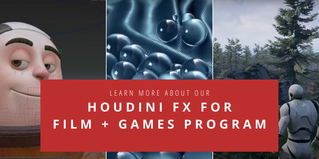 Houdini FX for Film + Games | InFocus Film School