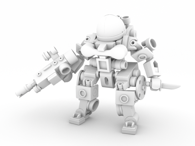 Arnold Tut AMB OCC Alone - Ambient Occlusion