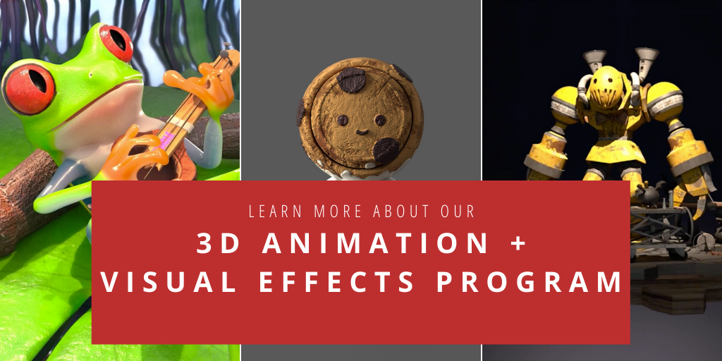 Learn more about InFocus Film School's 3D Animation and Visual Effects Program
