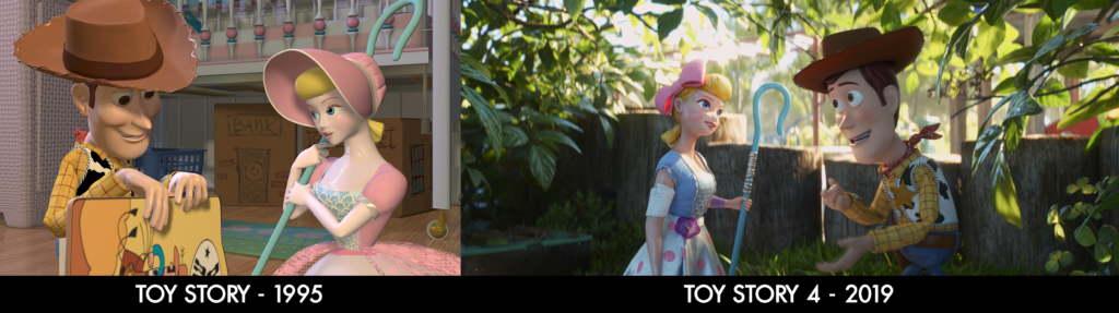 Toy Story Comparison